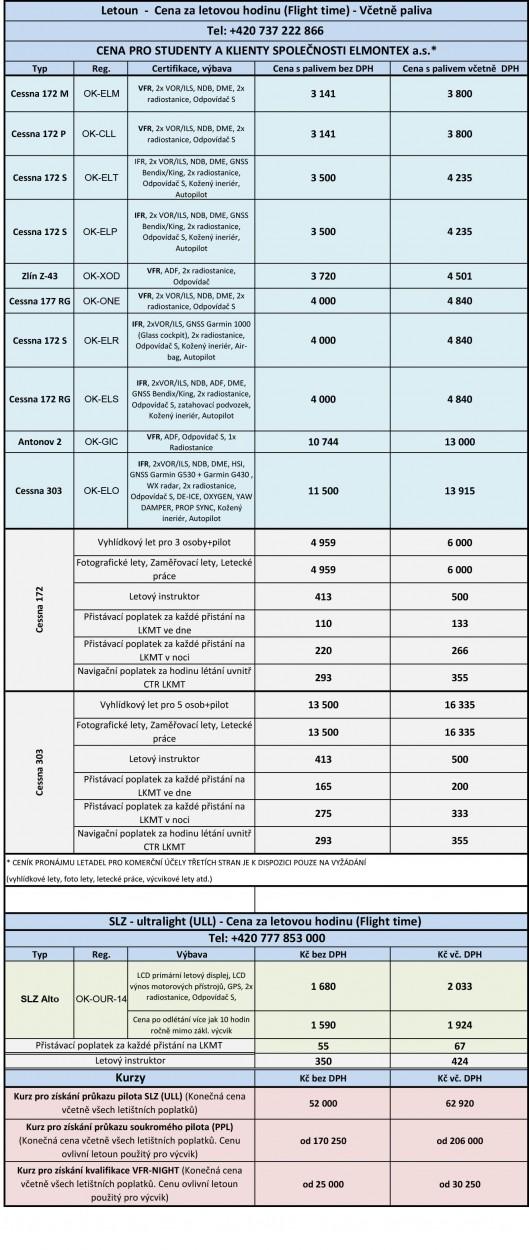 Ceník pronájmu letadel ELX ver  4_nowm